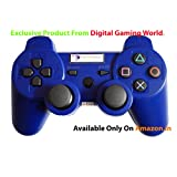 Digital Gaming World's Wireless Controller For Sony PS3 Console( Blue Color Limited Edition), Compatible/Generic.