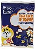 Moo Free Organic Dairy Free Chocolate Drops 35 g (Pack of 25)