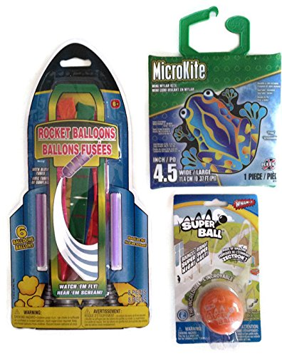 Magical-Toad-Rocket-Balloons-Super-Ball-Bouncing-Flying-Outdoor-Activity-Bundle-Three-Items-One-Micro-Magical-Toad-Kite-One-Rocket-Balloon-Kit-One-Orange-Wham-o-Super-Ball