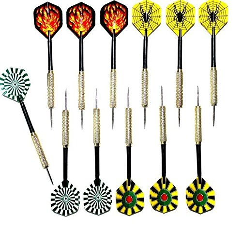 Interbusiness 16g Coppering Steel Tip Darts Needle Dart Flights (Spider Web Targets compare prices)