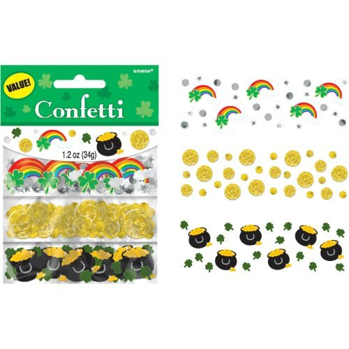 St. Patrick's Day Value Confetti - 1