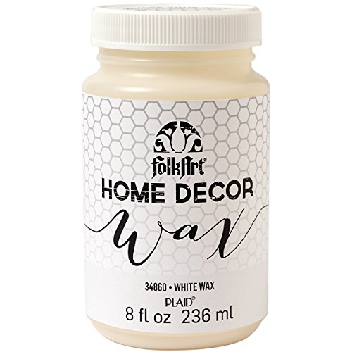 FolkArt Home Decor Wax Sealer (8-Ounce), 34860 White (Home Decor Chalk Paint compare prices)