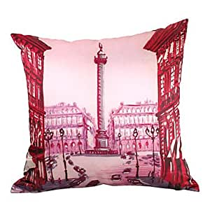 Amazon.com - LU Euro Style Silk Decorative Pillow Cover