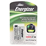 Energizer ENB-CE8 Digital Camera LP-E8 Li-ion Replacement Battery for Canon (Black)