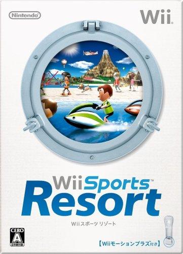 【Amazonの商品情報へ】Wiiスポーツ リゾート (「Wiiモーションプラス (シロ) 」1個同梱)