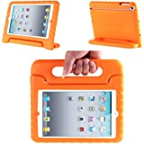 iPad Mini 3 Case, i-Blason ArmorBox Kido Series for Apple iPad Mini / iPad Mini with Retina Display Light Weight Super Protection Convertible Stand Cover Case (Orange)