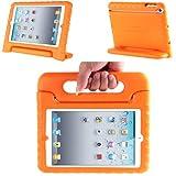 iPad Mini 3 Case, i-Blason ArmorBox Kido Series for Apple iPad Mini / iPad Mini with Retina Display Light Weight Super Protection Convertible Stand Cover Case (Orange)