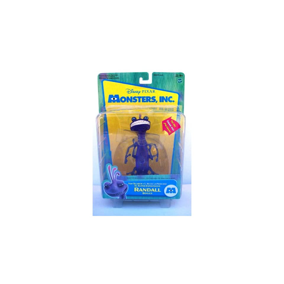 Monsters Inc Top Scarer Randall Boggs Action figure on PopScreen