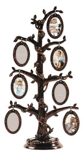 Burnes of Boston 7-Opening Family Tree Collage Frame (Burnes Of Boston Picture Frames compare prices)