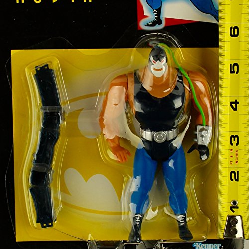 "Batman 1994 The Animated Series 6 Inch Tall Villain Action Figure - BANE with Body-Slam Arm Action and ""Venom"" Tube - 1"