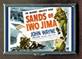 John Wayne Sands Of Iwo Jima Cigarette Case, ID Wallet USA Made