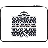 Snoogg To Become Who You Will Be 12 To 12.6 Inch Laptop Netbook Notebook Slipcase Sleeve