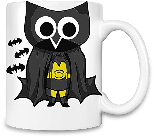 [Helloween Owl Unique Coffee Mug | 11Oz Ceramic Cup| The Best Way To Surprise Everyone On Your Special Day| Custom Mugs By Bang] (Easy To Make At Home Superhero Costumes)