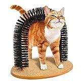 【 抜け毛 防止 】 簡単 グルーミング アーチ ブラシ 愛 猫 用 取り外し 可能 毛づくろい お手入れ 処理 【I.T outlet】 MI-CATGROOARCH