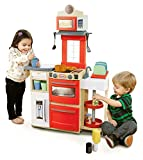 Little Tikes Cook 'n Store Kitchen Playset - Red