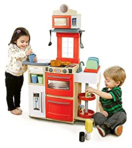Little Tikes Little Tikes Cook 'n Store Kitchen Playset, Red