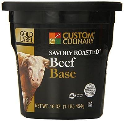 Custom Culinary Gold Label Savory Roasted Bases by Custom Culinary