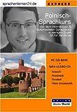 echange, troc Udo Gollub - Sprachenlernen24.de Polnisch-Express-Sprachkurs: CD-ROM für Windows/Linux/Mac OS X + MP3-Audio-CD für Computer /MP3-Player /M