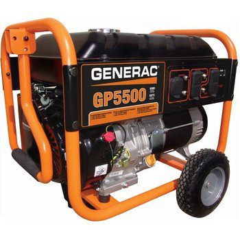 Generac 5939 GP5500 6,875 Watt 389cc OHV Portable