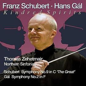 Kindred Sprits: Schubert: Symphony No. 9 - G�l: Symphony No. 2