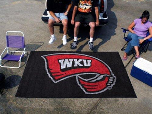 Western Kentucky Hilltoppers NCAA 5' x 8' Ultimate Tailgater Ulti-Mat Indoor / Outdoor Area Rug Floor Mat
