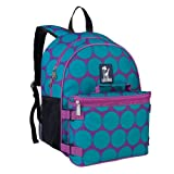Wildkin Aqua Big Dot Bogo Backpack with Lunch Bag, One Size
