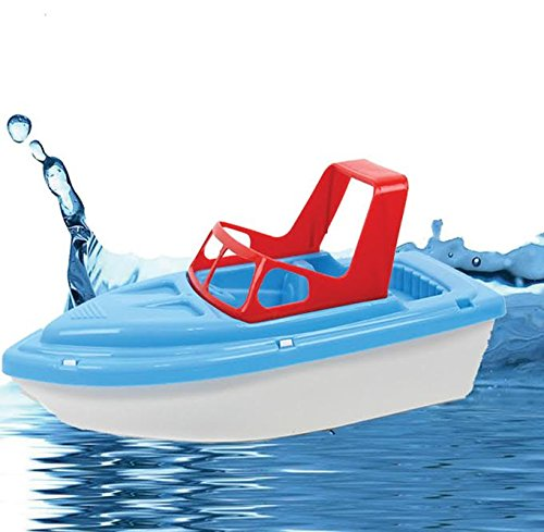 Dazzling Toys Bath and Sand Plastic Speedboat, colors may vary