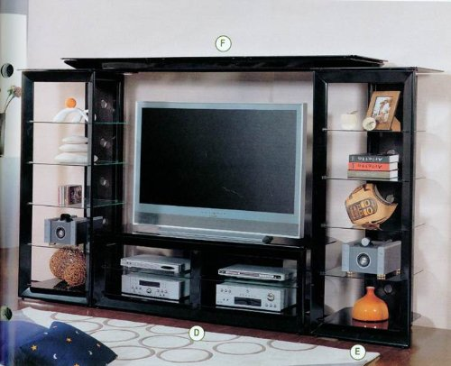 Cheap Coaster Draper TV Stand (B0040I8SL6)