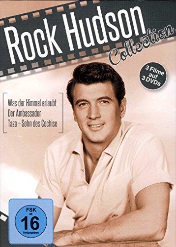 Rock Hudson Collection ( Was der Himmel erlaubt - Der Ambassador - Taza - Sohn des Cochise ) [3 DVDs]
