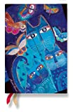 Paperblanks / ペーパーブランクス 2011年ダイアリー(手帳)【水面に映る猫と蝶々・ミニサイズ】