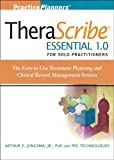 img - for Therascribe Essential 1.0 for Solo Practitioners: The Treatment Planning and Clinical Record Management System + The Complete Adult Psychotherapy Treatment Planner Module (PracticePlanners) 4th (fourth) Edition by Jongsma Jr., Arthur E., PEC Technologies, Inc. published by Wiley (2007) book / textbook / text book