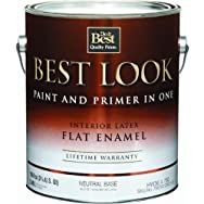 - HW36A0750-16 Best Look Interior Flat Paint And Primer In One Wall Enamel