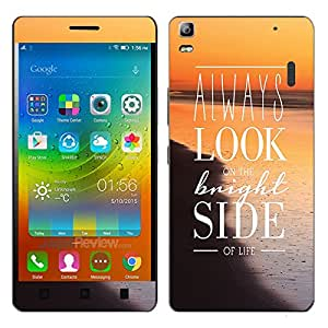 Theskinmantra Bright Side Lenovo K3 Note mobile skin