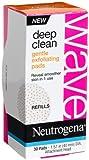 Neutrogena Wave Deep Clean Gentle Exfoliating Pads, 30 Count (Pack of 3)