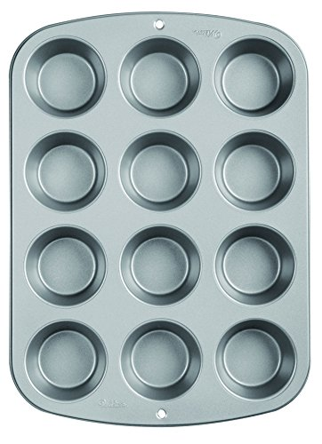 Maked filled cupcake recipes with Wilton Recipe Right Nonstick 12-Cup Regular Muffin Pan