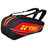 Yonex Tournament Basic Series BAG7526EX Racquet Bag(6 pcs)-Red