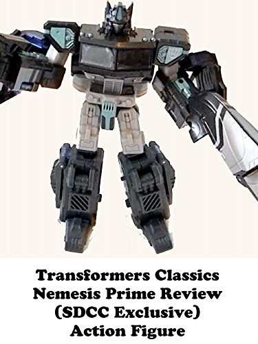 Transformers Classics NEMESIS PRIME review (SDCC Exclusive) action figure