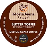 Keurig, Gloria Jean's, Butter Toffee, K-Cup packs