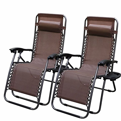 2-chairs-zero-gravity-chair-recliner-utility-tray-pool-brown