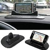 Sourcingbay 通用 ダッシュボード 滑らか止め 粘着ゴム付き GPSホルダー スマホやタブレット適用