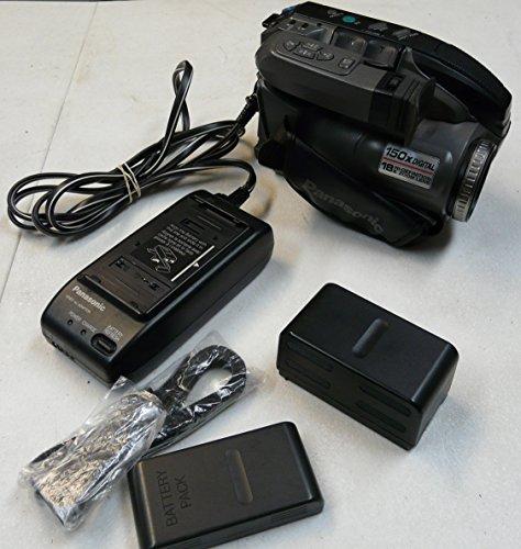 Panasonic PV-L580D Compact VHS/VHS-C Palmcorder Camcorder Bundle (Panasonic Vhs Camcorder compare prices)