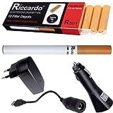elektronische Zigarette von RICCARDO® im günstigen Set Modell R101 classic - Inhalt