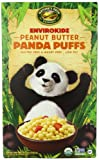 EnviroKidz Organic Peanut Butter Panda Puffs Cereal, 10.6-Ounce Boxes (Pack of 6)