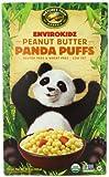 EnviroKidz Organic Peanut Butter Panda Puffs Cereal, 10.6-Ounce Boxes (Pack of 6)