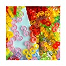 Cheri-Multicouleur Amazing Loom Bandz Pack of 100 S-Clips