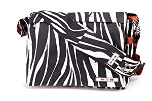 Ju-Ju-Be All Messenger Diaper Bag (Safari Stripes)