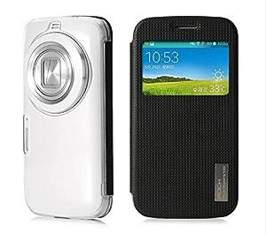 MYLB Flip cuir PU étui housse case dur de couverture de la série Pour Samsung Galaxy K Zoom smartphone (Pour Samsung Galaxy K Zoom, noir)