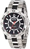 Bulova Men's 96B156 Precisionist Champlain Black carbon fiber Watch