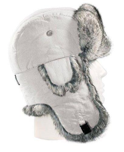 PO-M Fellmütze Polarmütze Pelzmütze Fliegermütze