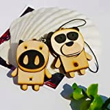 [Wooden Animals-6] - Cell Phone Charm Strap / Camera Charm Strap / Handbags Charms